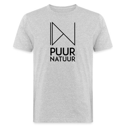 PUUR NATUUR FASHION BRAND - Mannen Bio-T-shirt
