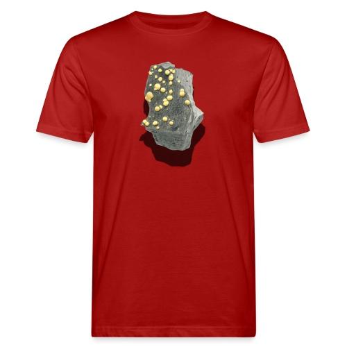 Kugelcalcit - Männer Bio-T-Shirt