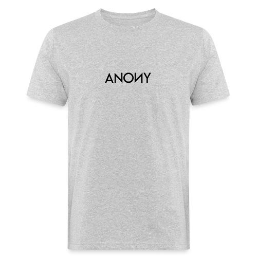 Anony Text - Camiseta ecológica hombre