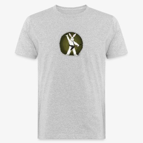 Metal Bunny - Økologisk T-skjorte for menn