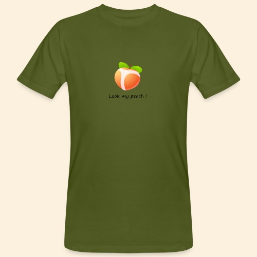 Look my peach - T-shirt bio Homme