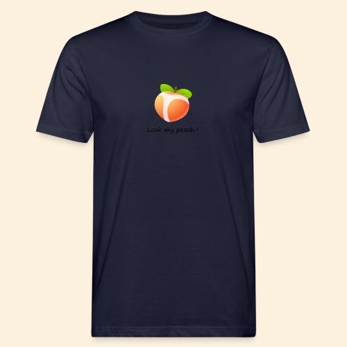 Look my peach - T-shirt bio Homme