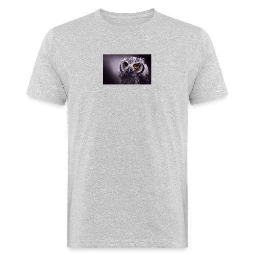 Pöllö - Miesten luonnonmukainen t-paita