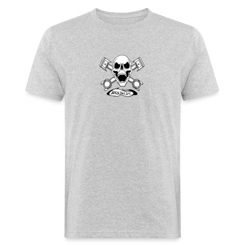 Bergen Bike Life - Økologisk T-skjorte for menn
