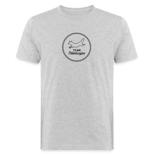 pilvimarjanlogovalk - Miesten luonnonmukainen t-paita