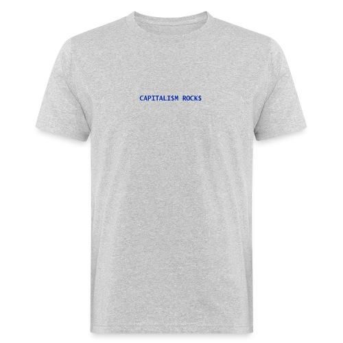 CAPITALISM ROCKS - T-shirt ecologica da uomo