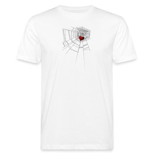 trappola_del_cuore - T-shirt ecologica da uomo