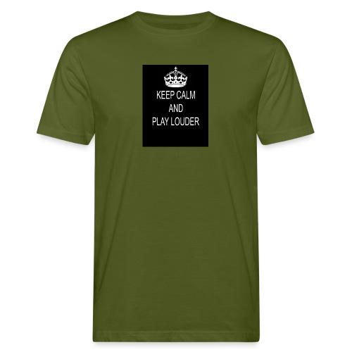 keep calm play loud - T-shirt bio Homme
