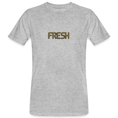 Limited Edition Fresh (Gold) Design - Men's Organic T-Shirt