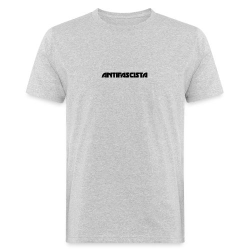 Antifascista svart - Ekologisk T-shirt herr