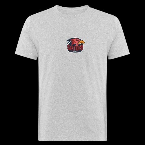 Sektion9 logo Rot - Männer Bio-T-Shirt