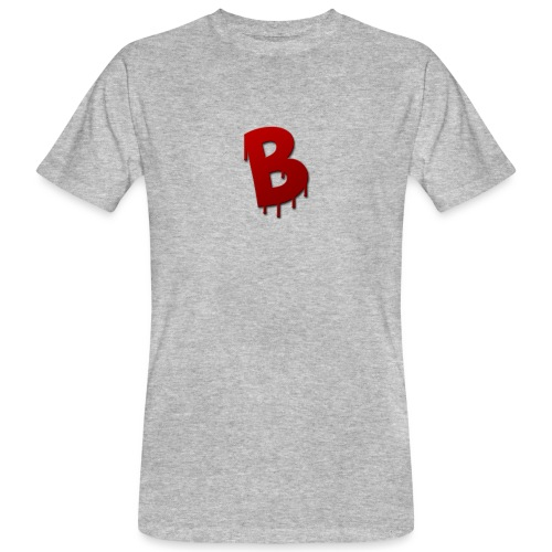 Rood Bartjuh - Mannen Bio-T-shirt