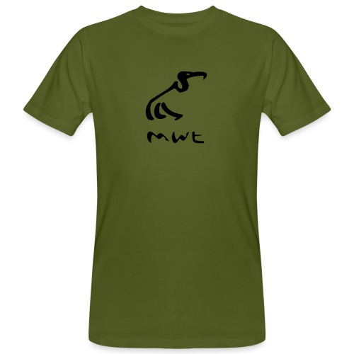 mwt avec nom - Männer Bio-T-Shirt
