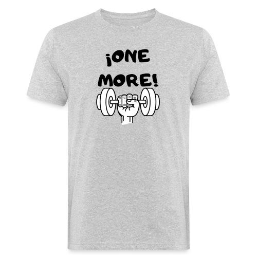 ¡ONE MORE! frase motivación deporte - Camiseta ecológica hombre