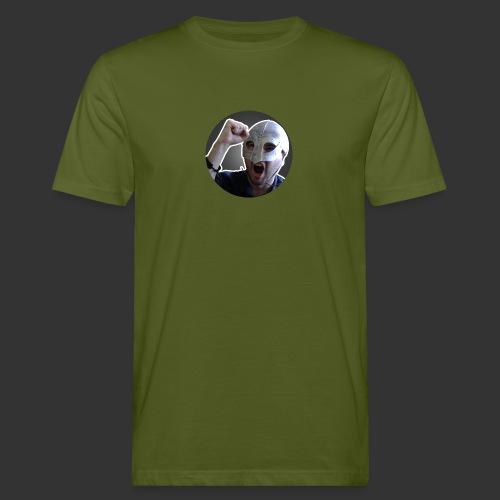 Logo kanału wicek3d na Youtube - Ekologiczna koszulka męska
