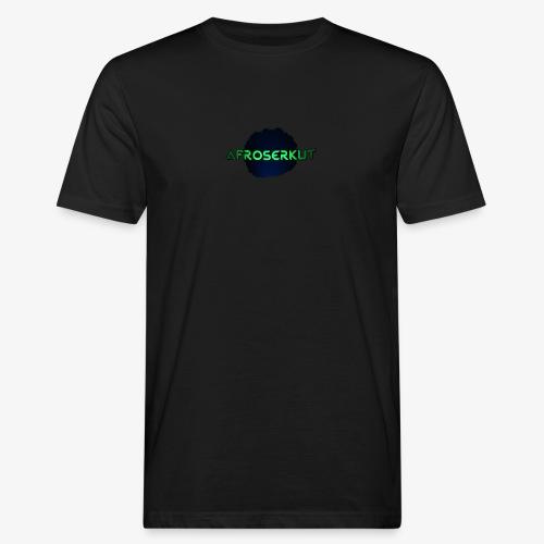 AfroSerkut LOGO - Miesten luonnonmukainen t-paita