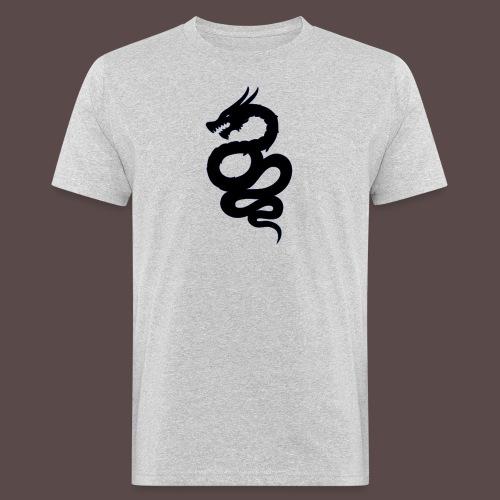 Biscione Drago - T-shirt ecologica da uomo