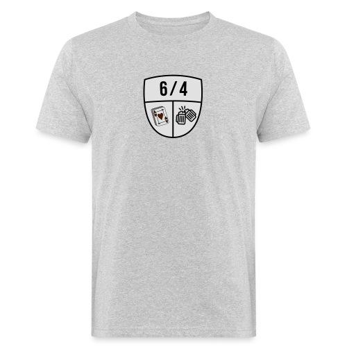 6/4 - Mannen Bio-T-shirt