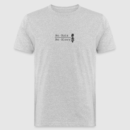 No guts No glory logo - Mannen Bio-T-shirt