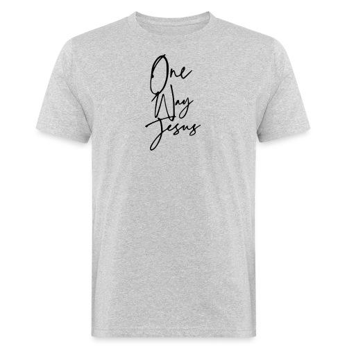 one way jesus - Camiseta ecológica hombre