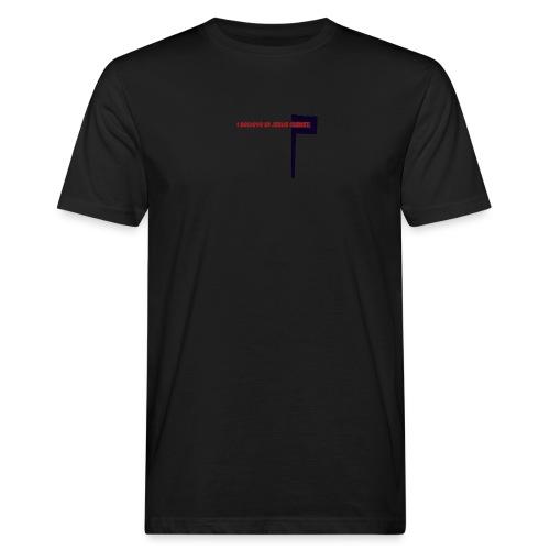 I believe in Jesus!!! - Männer Bio-T-Shirt