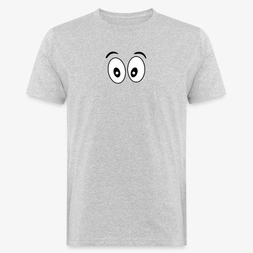 wide eye 1 - Men's Organic T-Shirt