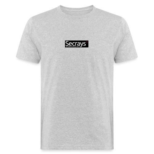 logo valkoinen teksti - Miesten luonnonmukainen t-paita