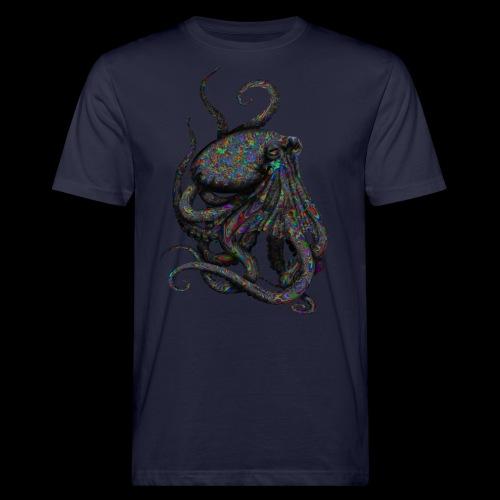 Oktopus Goa - Männer Bio-T-Shirt