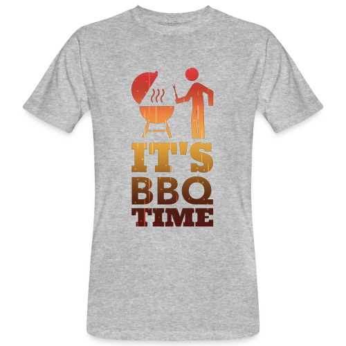 It's BBQ Time - Mannen Bio-T-shirt