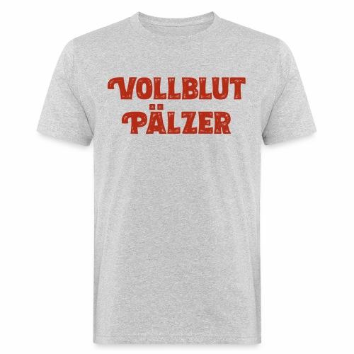 Vollblut Pälzer - Männer Bio-T-Shirt