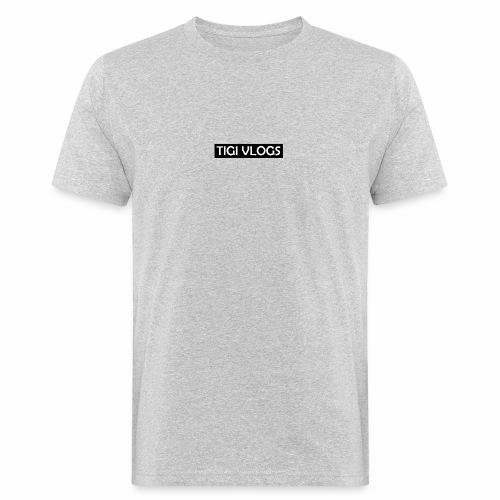TigiVlogs Merch 3.0 - Ekologisk T-shirt herr