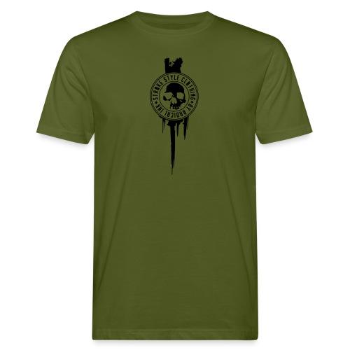 patch stroke pfade - Männer Bio-T-Shirt