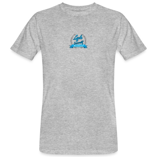 cycle community scotland blue logo tee - Men's Organic T-Shirt