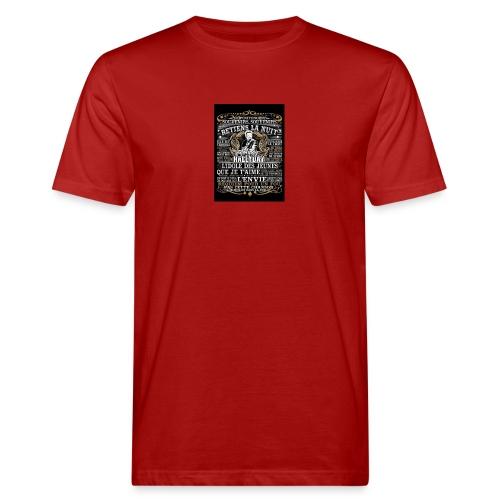 Johnny hallyday diamant peinture Superstar chanteu - T-shirt bio Homme