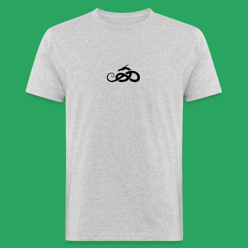 Tribal Dragon - T-shirt ecologica da uomo