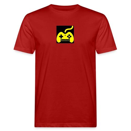 BassoGames Logi - Men's Organic T-Shirt