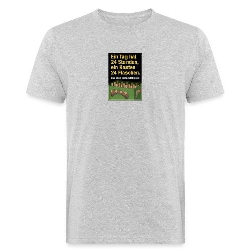 Bauern Sprüche - Männer Bio-T-Shirt