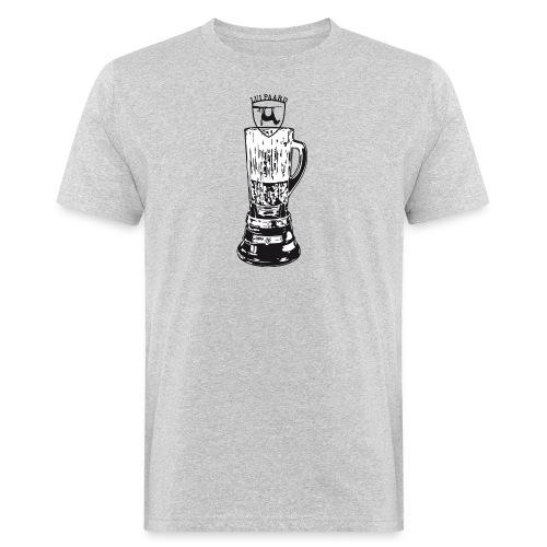 Lui Paard Blender artwork BW - Mannen Bio-T-shirt