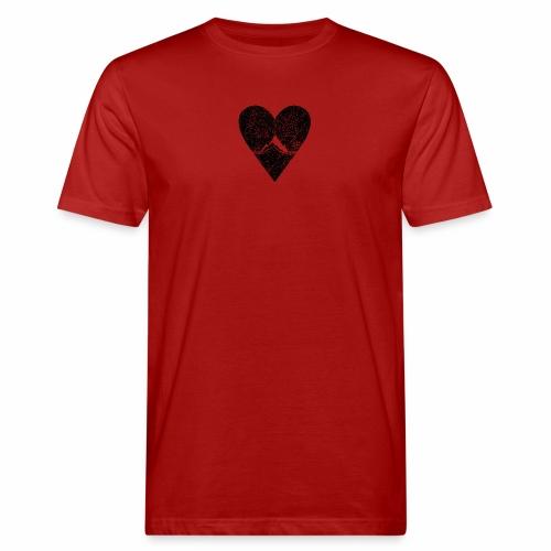 Bergliebe - used / vintage look - Männer Bio-T-Shirt