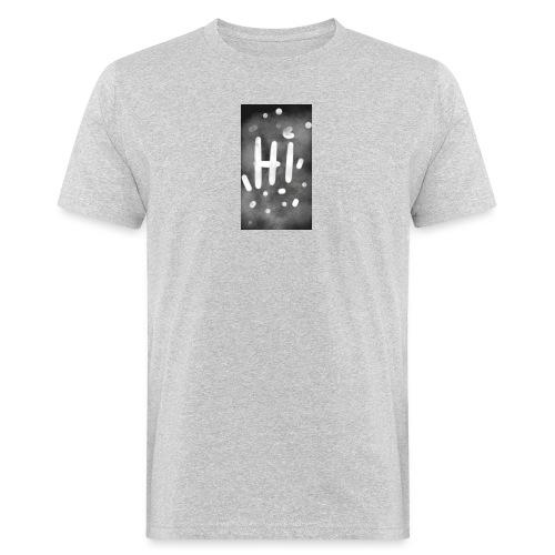 Hola o hi nublado - Camiseta ecológica hombre