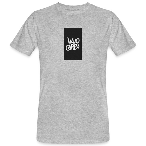WHO CARES ? - T-shirt bio Homme