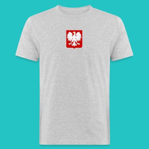 Koszulka z godłem Polski - Ekologiczna koszulka męska