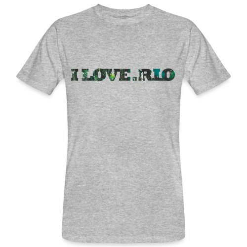 ILOVE.RIO TROPICAL N ° 3 - Men's Organic T-Shirt