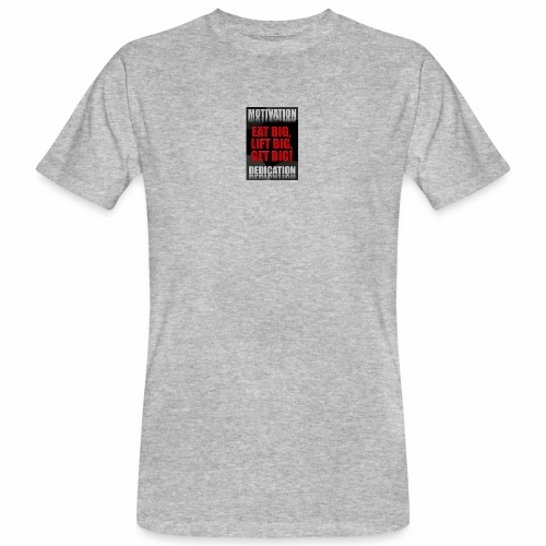 Motivation gym - Ekologisk T-shirt herr