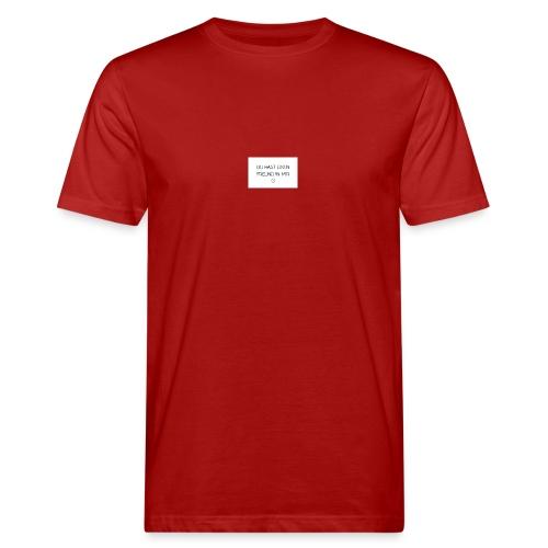 Freundschaft - Männer Bio-T-Shirt