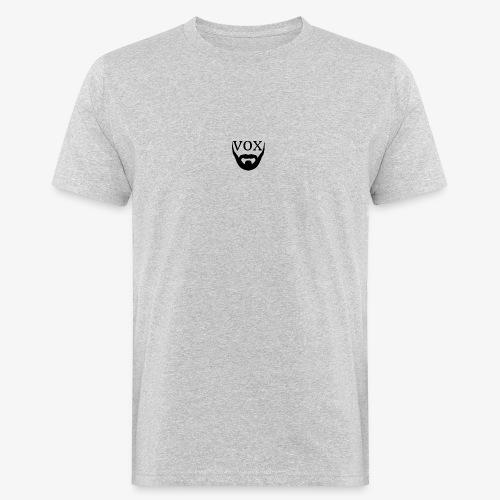 Logo Vox Nero - T-shirt ecologica da uomo