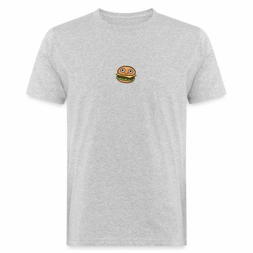 Burger Cartoon - Mannen Bio-T-shirt