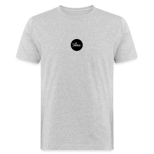 Tekkie Black Logo - Mannen Bio-T-shirt