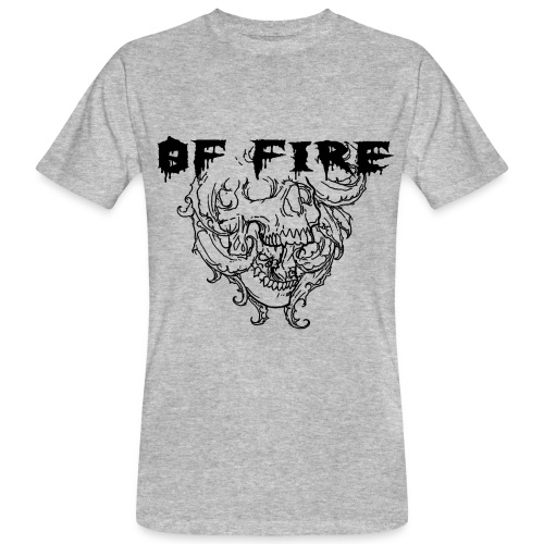 Of Fire Carnage Skull Bla - Men's Organic T-Shirt