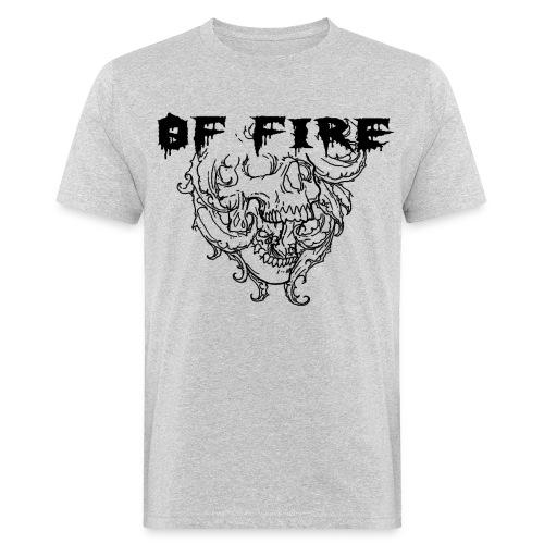 Of Fire Carnage Skull Bla - Men's Organic T-Shirt